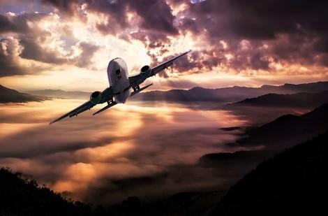 Fliegen ist ja schon nicht so gut, aber…