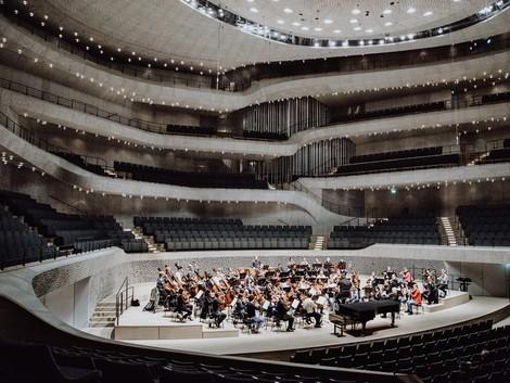 Mit dem Gewandhaus auf Tour: Ein Besuch in der Elbphilharmonie