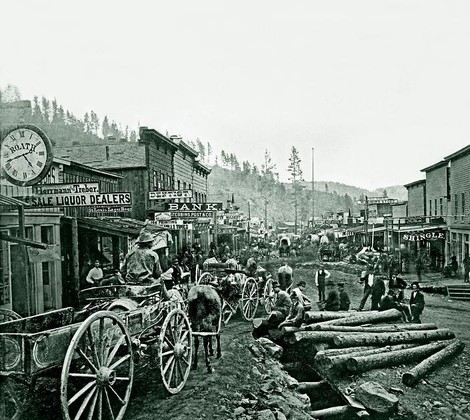 1876, Deadwood: Stadt ohne Sheriff und Gefängnis