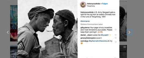 Instagram – Making History Cool Again