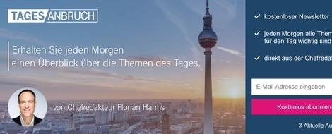 Florian Harms: Der Kern des Journalismus ist saubere, präzise Information