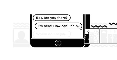 Text-Bots sind die neuen Apps.