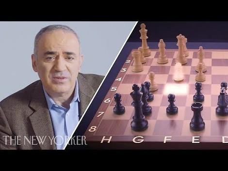 Kasparow erklärt vier legendäre Züge