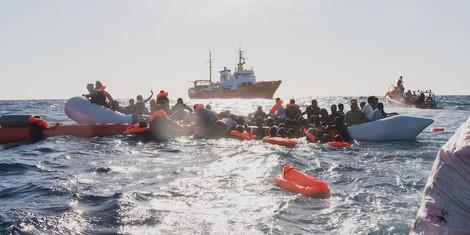 Menschen in Seenot haben einen Anspruch auf Hilfe – auch Flüchtlinge