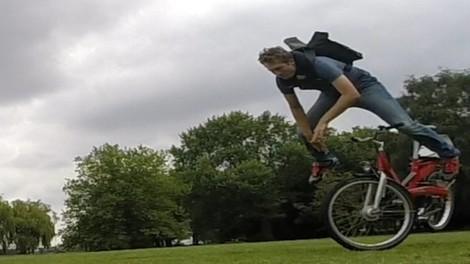 Der Fahrradhelm für Menschen, die keinen Fahrradhelm tragen