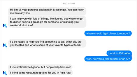 """Wie genau funktioniert """"M"""" von Facebook?"""