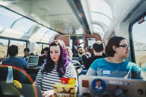Kreativität auf Gleisen: Der Train Jam 2016