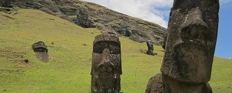 Wie die Steinstatuen der Osterinsel entstanden