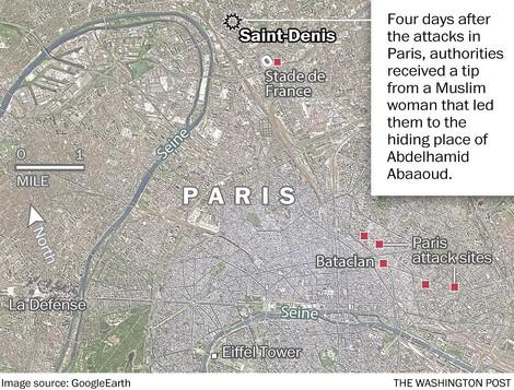 Zwei Frauen: Eine hilft dem Paris-Drahtzieher Abaaoud, die andere liefert ihn an die Behörden aus