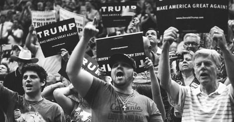 Das wird Blut geben: Trump und die mörderische, misogyne Wut seiner Wähler