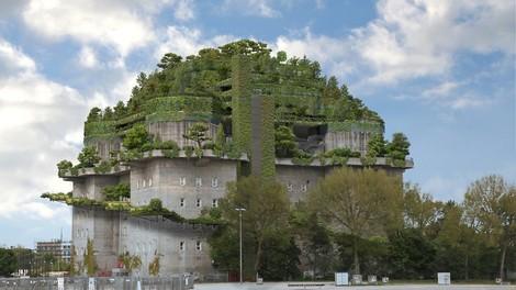 Das giftgrüne Dach St. Paulis