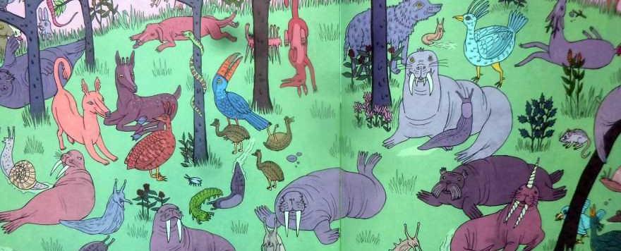 """Kinderbücher: """"Benny's Brigade"""" — Winzige Walrösser und riesige Nacktschnecken"""