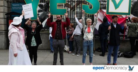 Hitzige Debatten wegen Irlands Abtreibungsgesetzen. Oder: Wie man ein Referendum hackt.