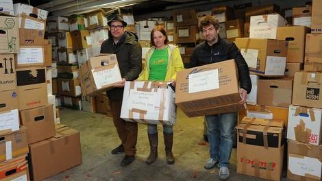 Hilfe aus München für Idomeni