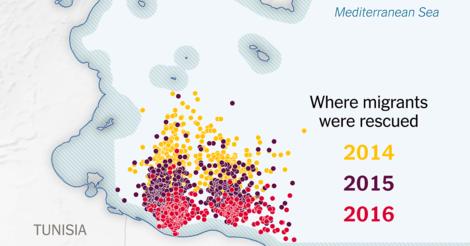 Mord durch Unterlassen: Eine multimediale Reportage über Europas tödlichen Burggraben