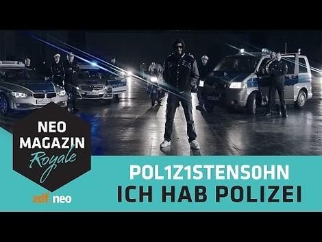 Böhmermann hat Polizei