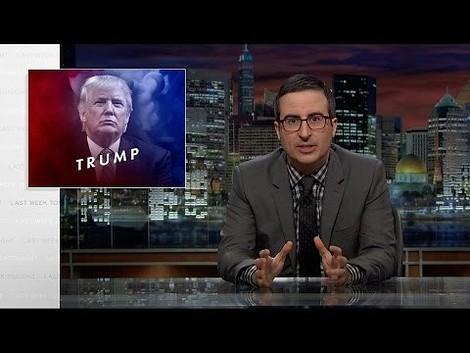 John Oliver vs. Donald Trump - das ist keine Comedy, das ist kein Journalismus, das ist Kunst