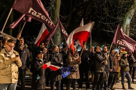 Polens Protestbewegung: Eine Kritik von links
