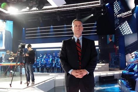 Russisches Fernsehen: Der amerikanische Prügelknabe