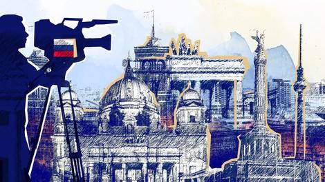 Russlands deutsche Medienkanäle für Linke und Ökos