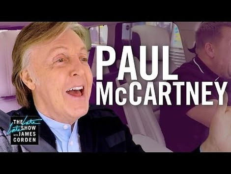 Carpool Karaoke mit dem Godfather Of Pop: Sir Paul McCartney