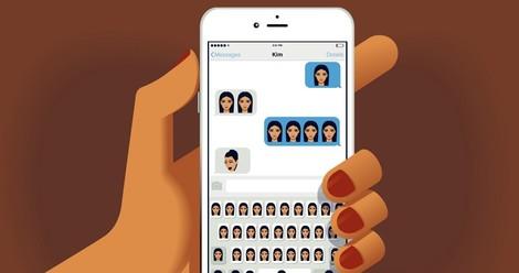 Emoji Moguls: Wie Kim Kardashian dazu kam, tausende Textnachrichten zu dominieren.