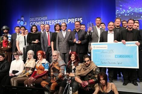 Gaming-GAU - Der Deutsche Computerspielpreis in München
