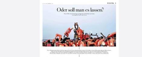 Umstrittenes Pro und Contra zur Seenotrettung: Die Zeit zeigt, wie Krisenkommunikation geht