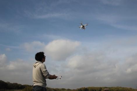 Wenn die Drohne das Mittagessen bringt
