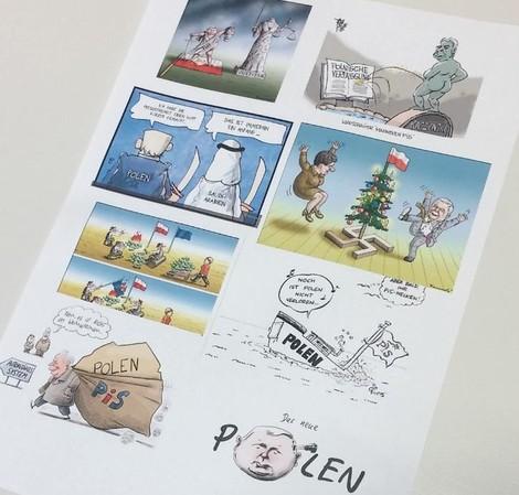 Komplizierte Nachbarschaft: Deutschland, Polen und die Geschichte in den Karikaturen