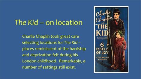 Wie Charlie Chaplin 'The Kid' filmte