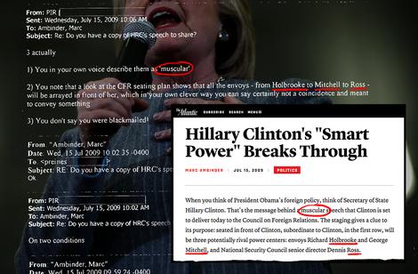 Wie der Pressesprecher von Hillary Clinton Medien beeinflusste
