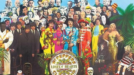 The news today, oh boy...! Sgt. Pepper wird 50