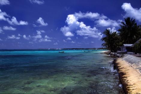Der Klimawandel ist eine Tatsache, der Untergang der Südseeinseln wohl nicht