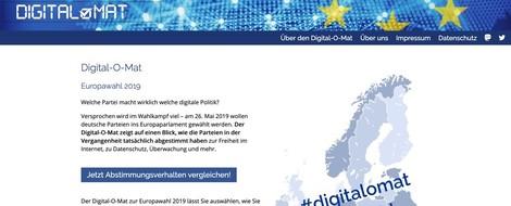 Digital-O-Mat: Mach den Netzpolitik-Check zur Europawahl!