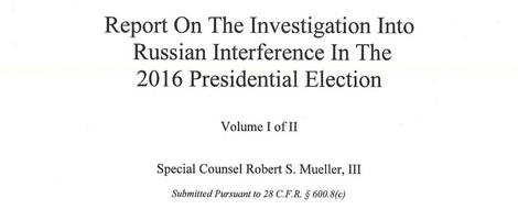 Upload-Filter stufen Mueller-Bericht fälschlicherweise als Urheberrechtsverletzung ein