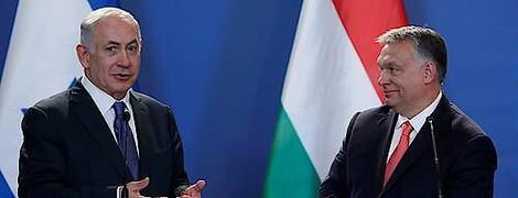 Osteuropa und Netanjahu: Warum Orbán & Co den israelischen Regierungschef bewundern