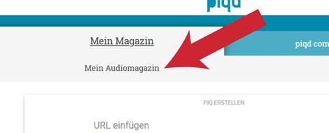 Das erste plattformübergreifende, sich selbst aktualisierende, personalisierte Audiomagazin ...