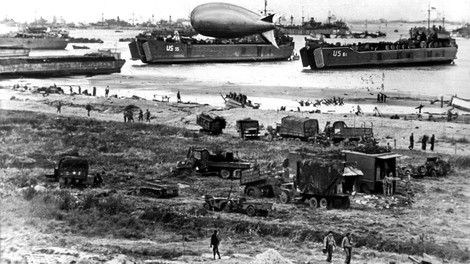 D-day, 6. Juni 1944: Als die größte Armada der Weltgeschichte vor Frankreich landete