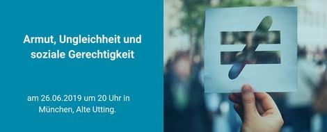 piqd Salon München am 26. Juni 2019 : Armut, Ungleichheit, soziale Gerechtigkeit