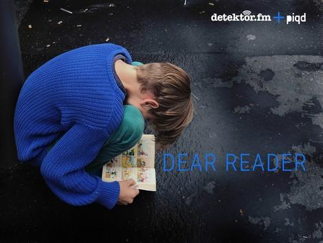 Dear Reader – der Literatenfunk #9 Zu Gast: Daniela Seel
