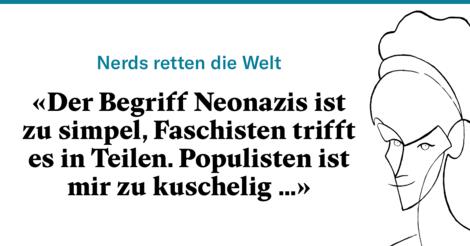 """""""Einfache Gegengifte gibt es nicht mehr"""" Sybille Berg trifft Koryphäe der Faschismus-Forschung"""