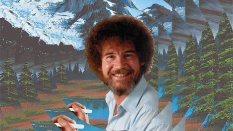 Chasing Happy Little Clouds: Wo sind die Bilder von Bob Ross?