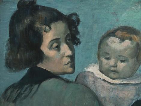 Ein Baby ist das Fremde