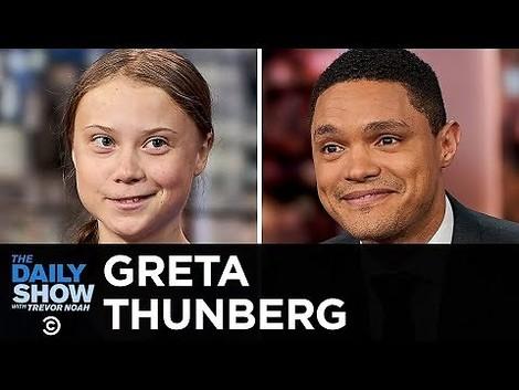Greta Thunberg tut das maximal Mindeste – bei Trevor Noahs Today Show