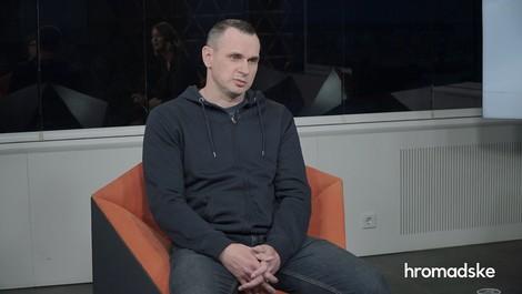 """""""Ich habe nicht einen Tag im Gefängnis verloren"""" – Oleg Sentsov spricht frei (und verurteilt)"""