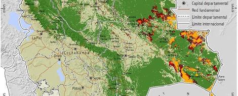 Bolivien: das Jahr der gigantischen Waldbrände