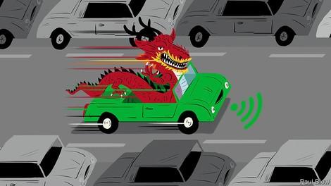 Selbstfahrende Autos chinesischer Prägung