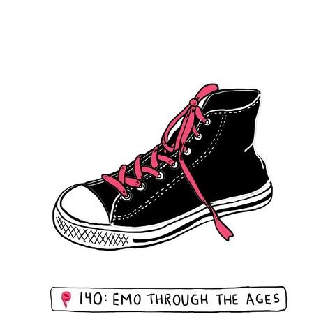Emo ist wieder da und es gibt schon eine passende Podcastfolge dazu