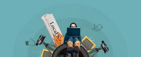 Journalismus & Netz im November: Tagesschau auf TikTok, Journalismus der Dinge, Berichten mit KI